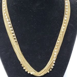🎆 HP 🎆 Gold chain with crystals